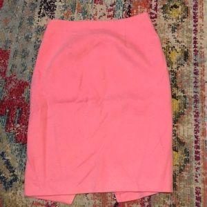 LOFT Skirts - Loft size 2 pink wool skirt